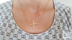 "KETTING ""HEARTBEAT"" GOLD"
